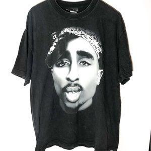 Tupac band tee